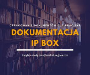 Ewidencja IP Box