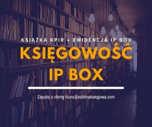 Biuro rachunkowe IP Box
